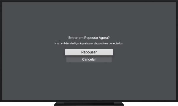 Dica: como desligar (ou melhor, colocar em repouso) a Apple TV