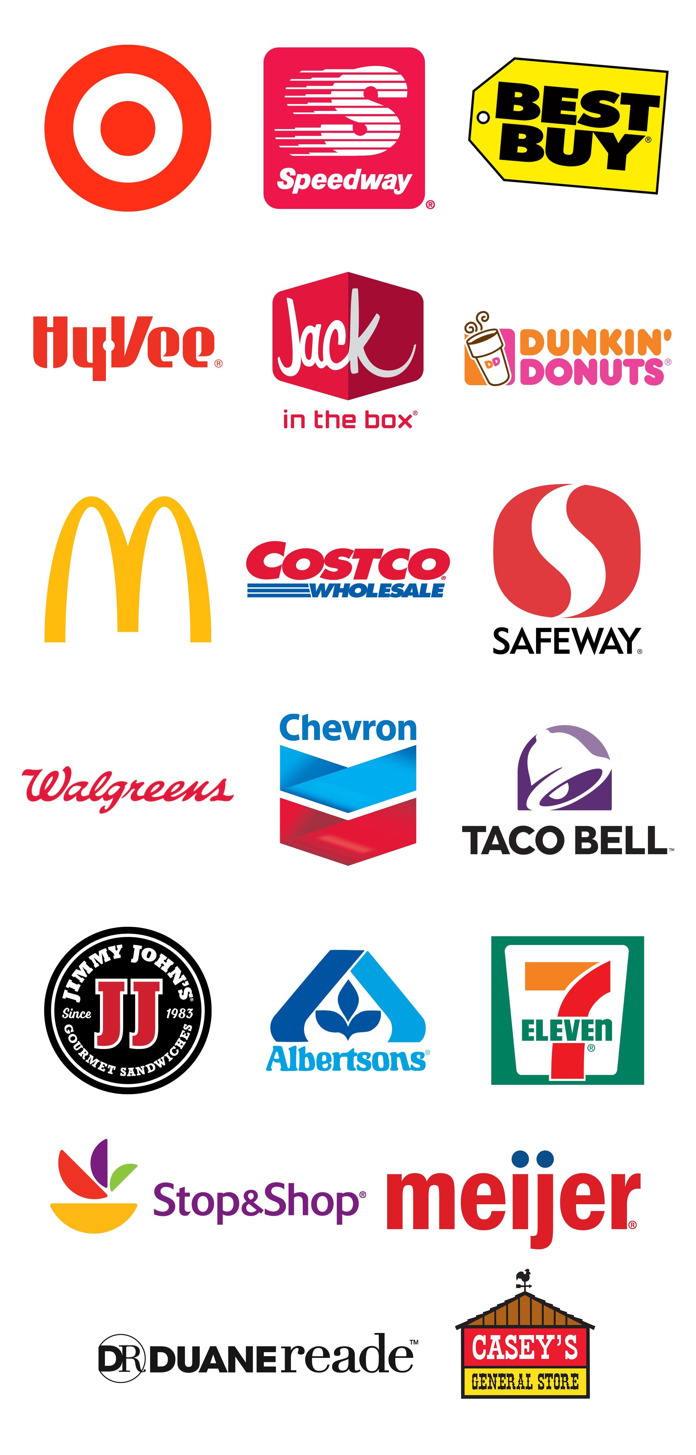 Lojas/marcas que aceitam o Apple Pay nos EUA