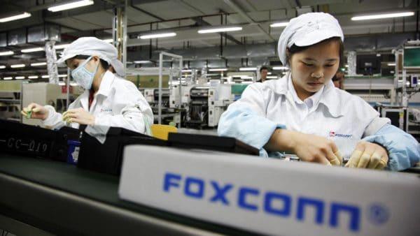 Trabalhadores da Hon Hai/Foxconn