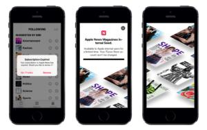 """""""Apple News Magazines"""", suposto serviço de assinatura de revistas da Apple (imagem: 9to5Mac)"""