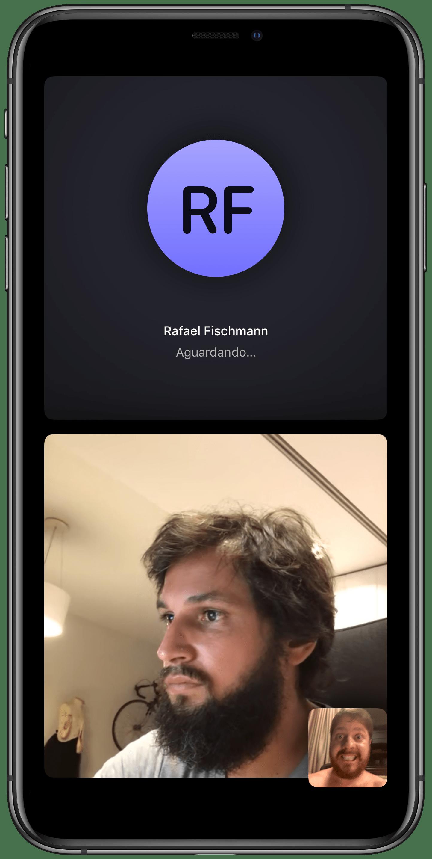 Bug do FaceTime agora em vídeo