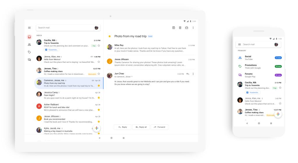 Novo Gmail para iOS
