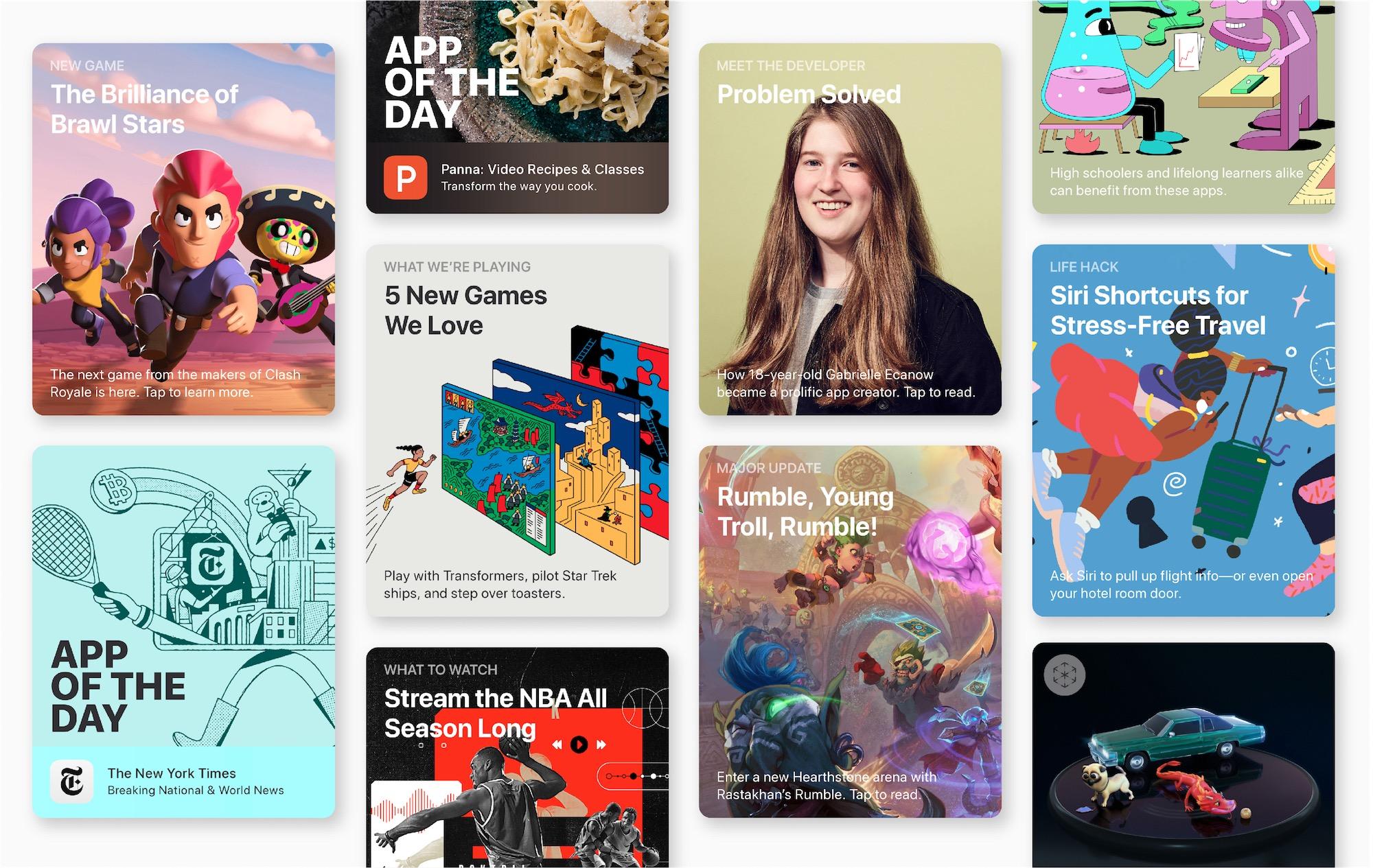 Recordes de receita da App Store em 2018