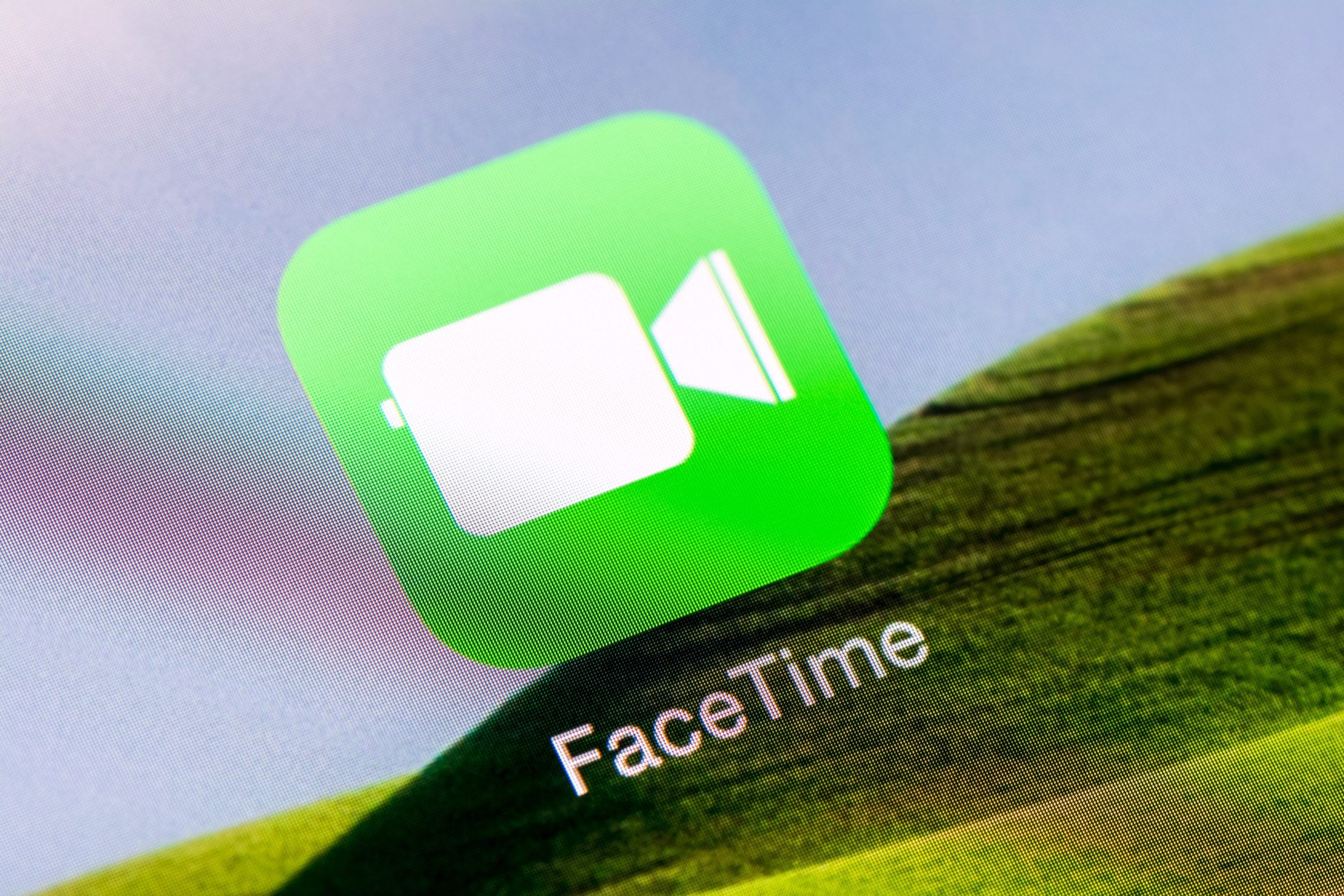 Ícone do FaceTime