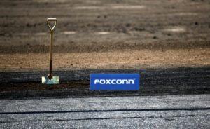 Terreno onde será construído centro tecnológico da Foxconn, em Wisconsin (EUA)