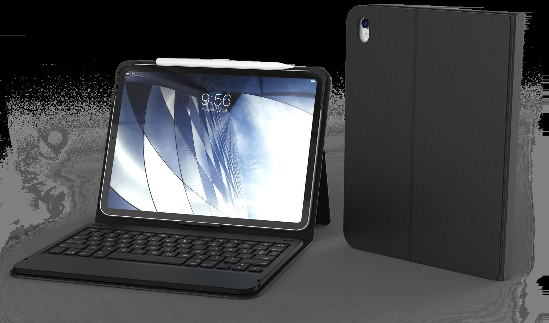 Zagg Messenger Folio, capa com teclado para iPad