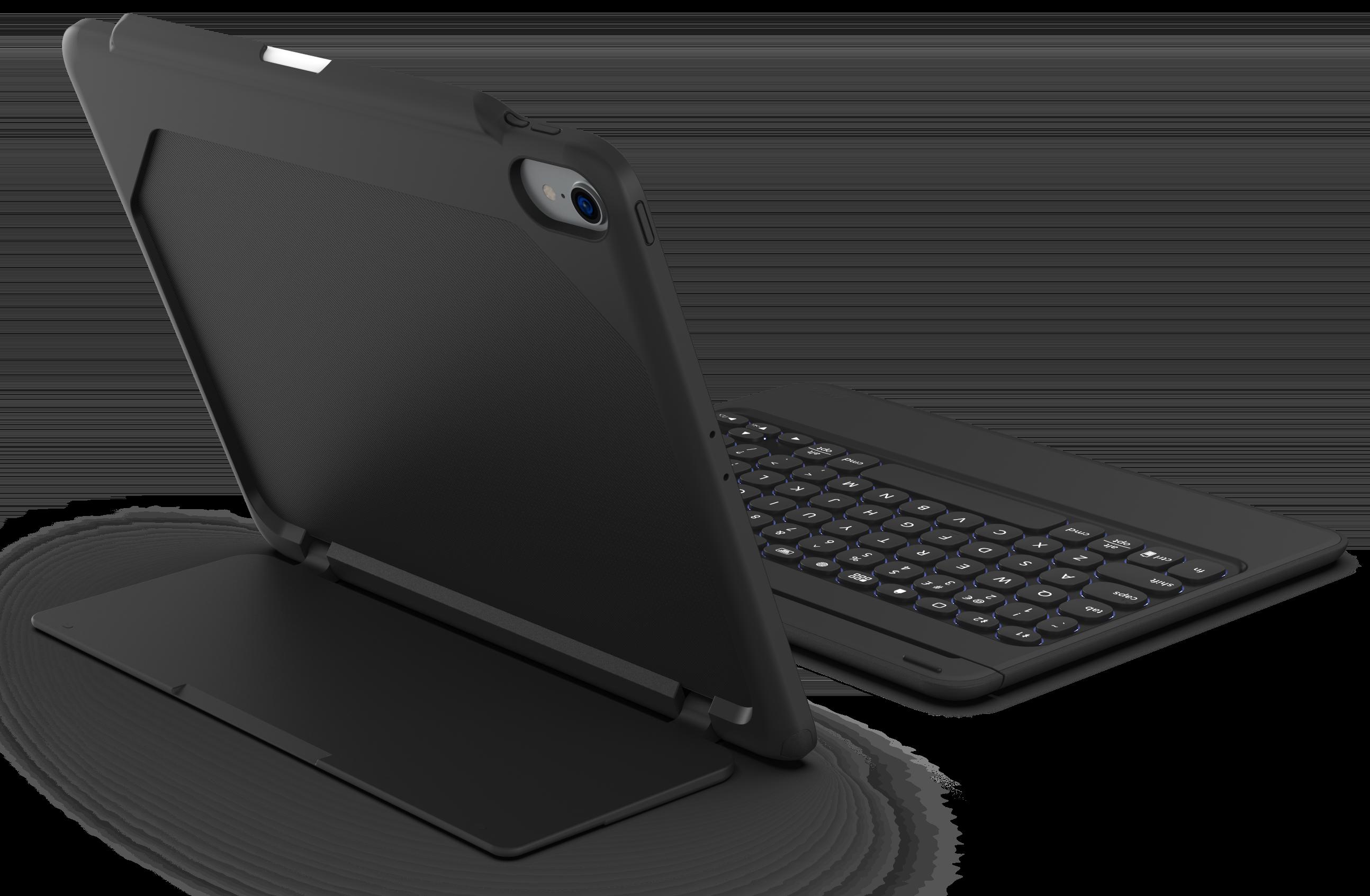ZAGG Rugged Book Go, capa com teclado para iPad