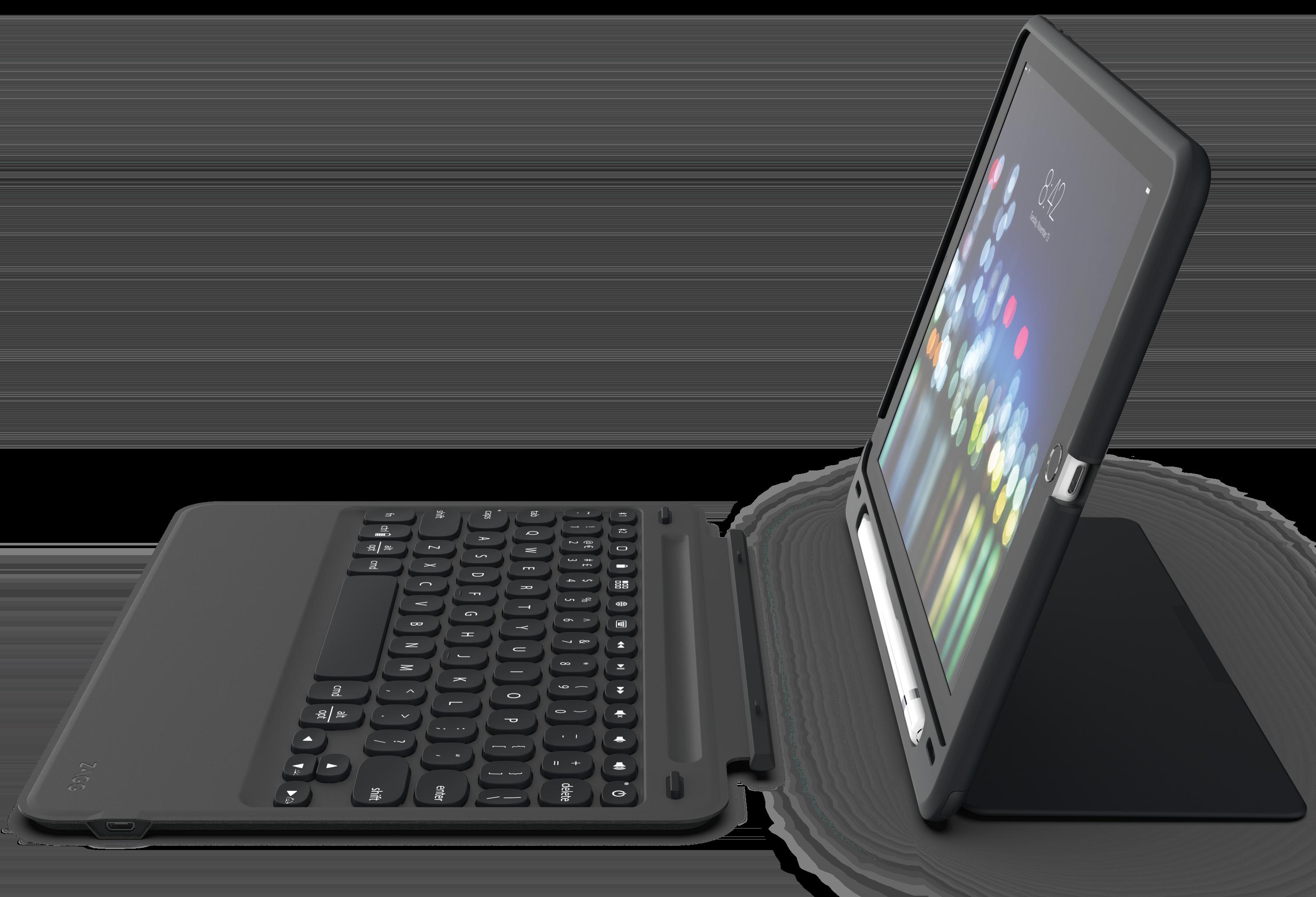 Zagg Slim Book Go, capa com teclado para iPad