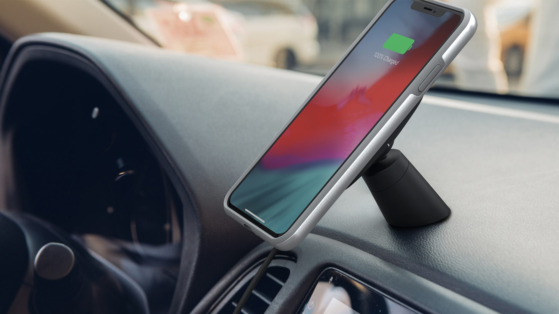 Suporte veicular Moshi SnapTo Magnetic Car Mount