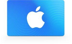 Cartão presente da App Store