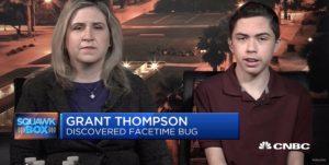 Grant Thompson em entrevista para a CNBC
