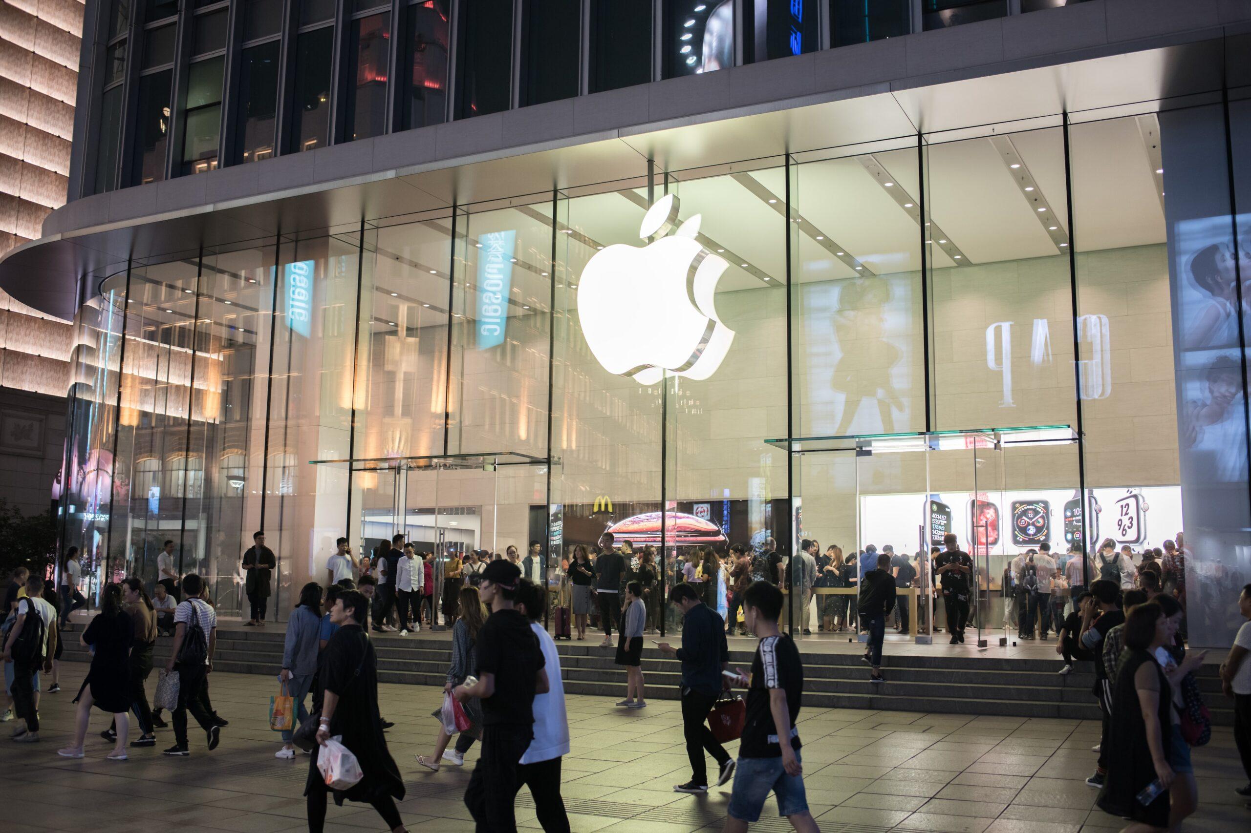 Apple Store em Xangai na China