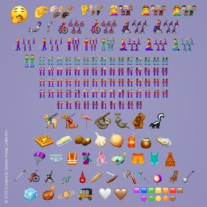 230 novos emojis para 2019