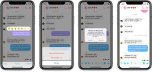 Apagando mensagens no Facebook Messenger