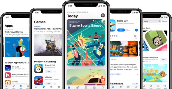 Está 28x mais difícil chegar ao topo da App Store do que há cinco anos