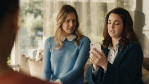 Comercial destacando o Controle de Profundidade dos iPhones XS, XS Max e XR
