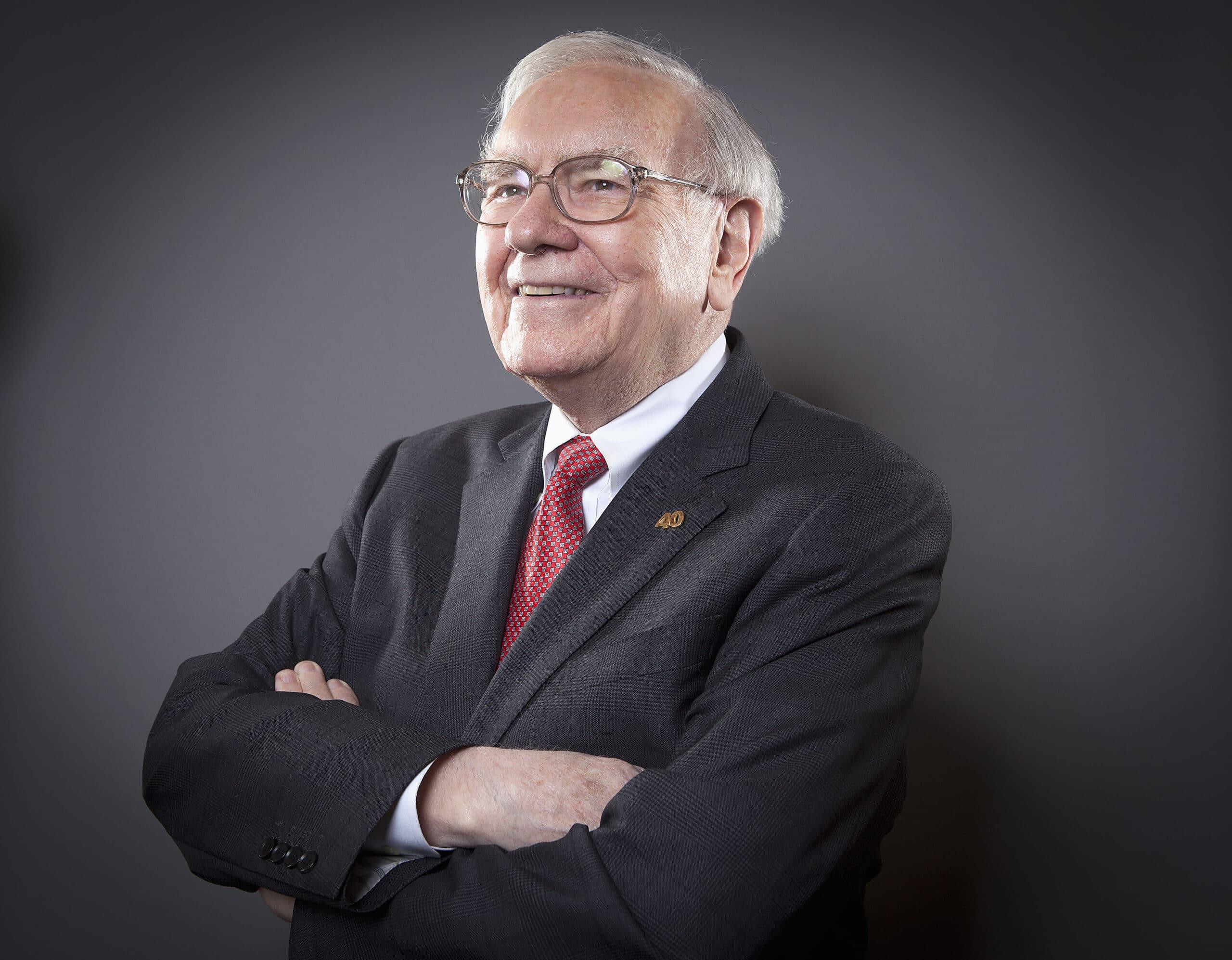 Warren Buffett, CEO da Berkshire Hathaway