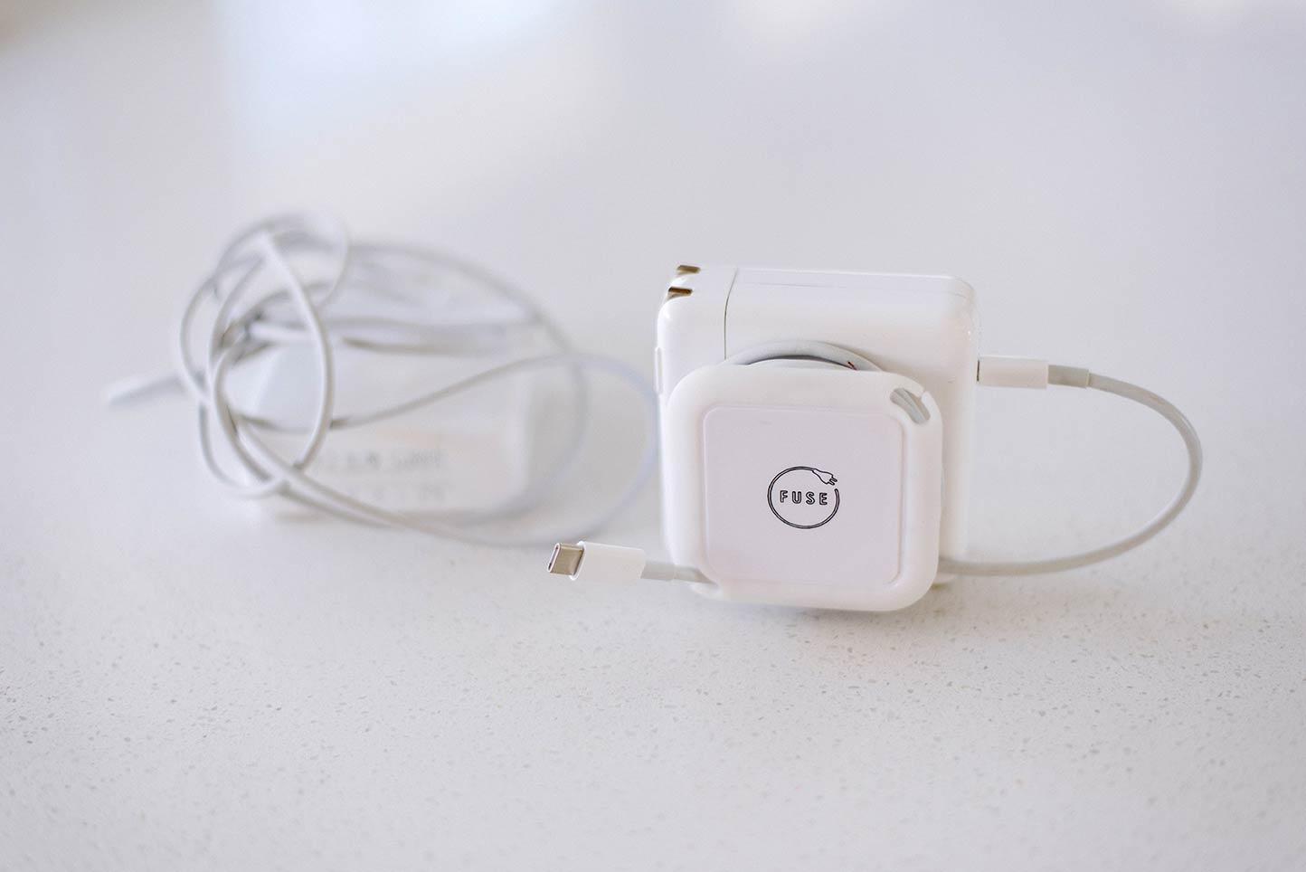 Side Kick da Fuse, acessório para enrolar cabo do carregador do MacBook Pro
