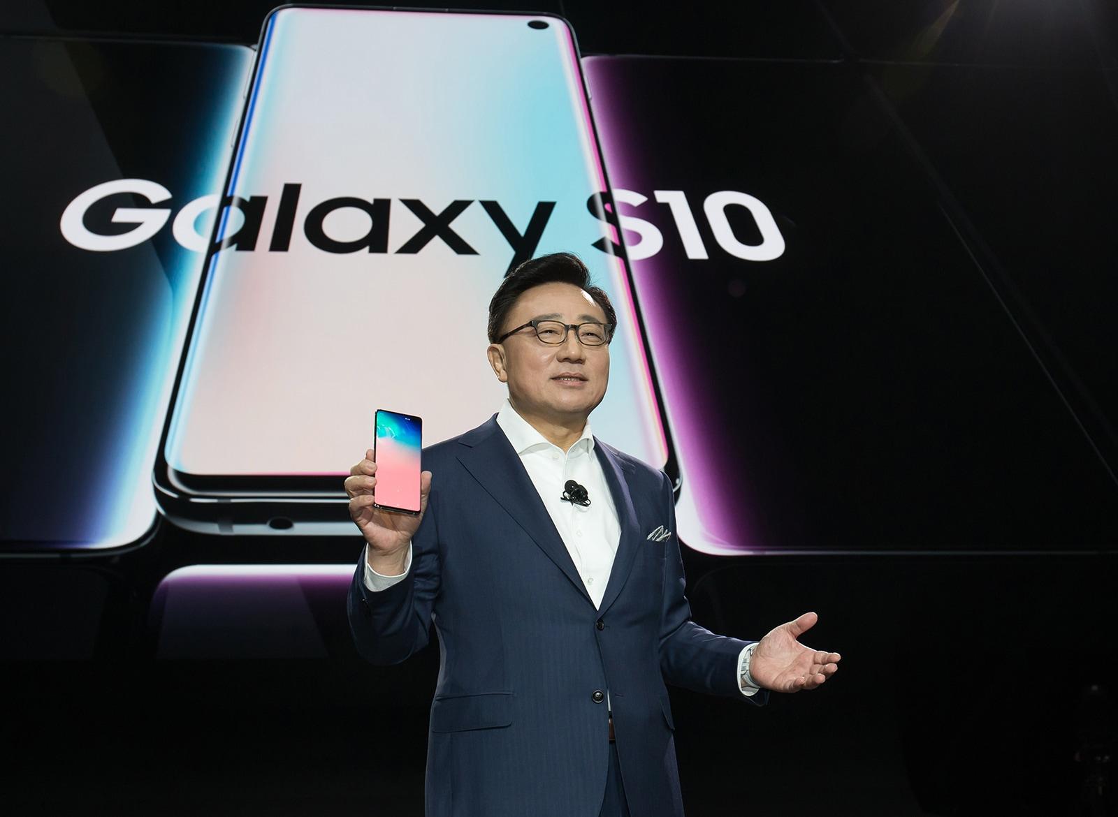 Apresentação do Galaxy S10
