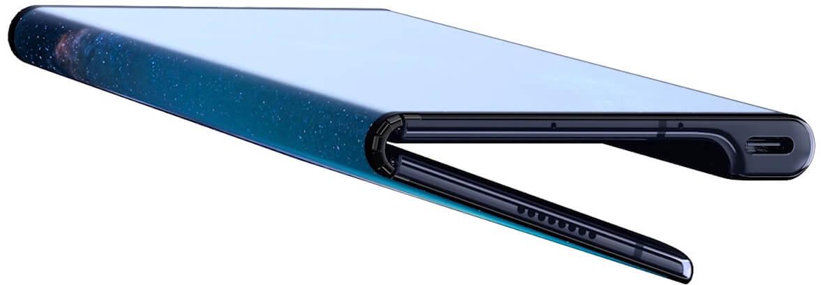 Porta USB-C do Huawei Mate X