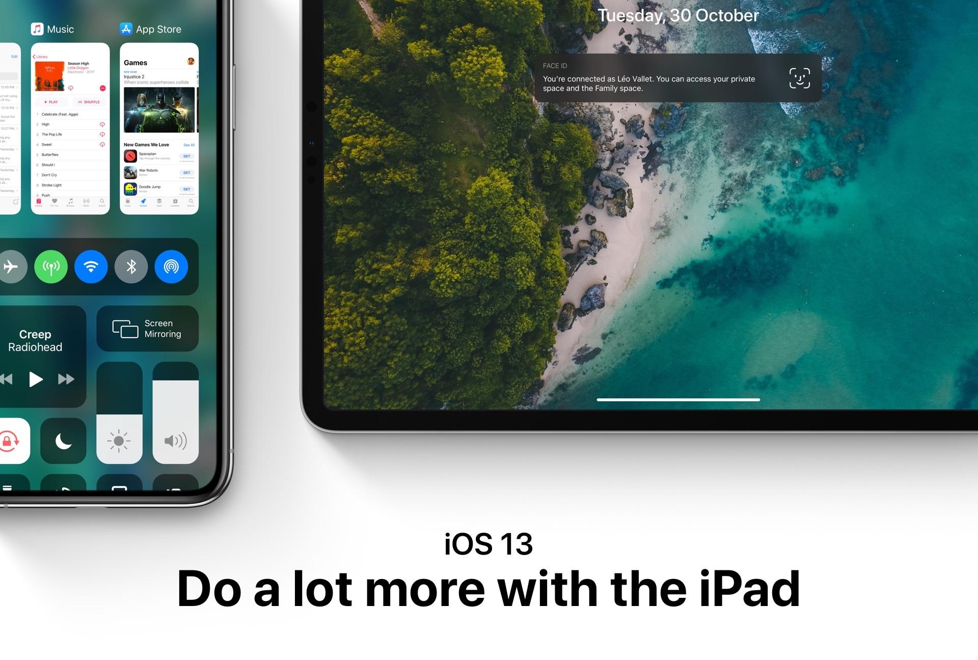 Conceito para o iOS 13