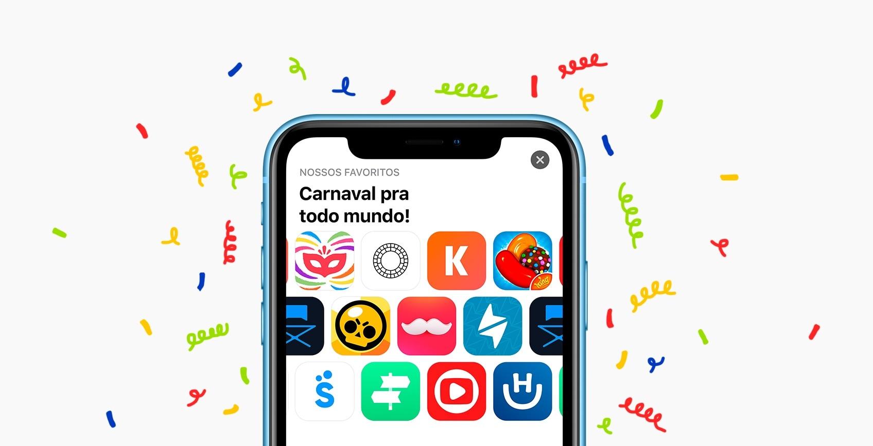 Apps para o Carnaval