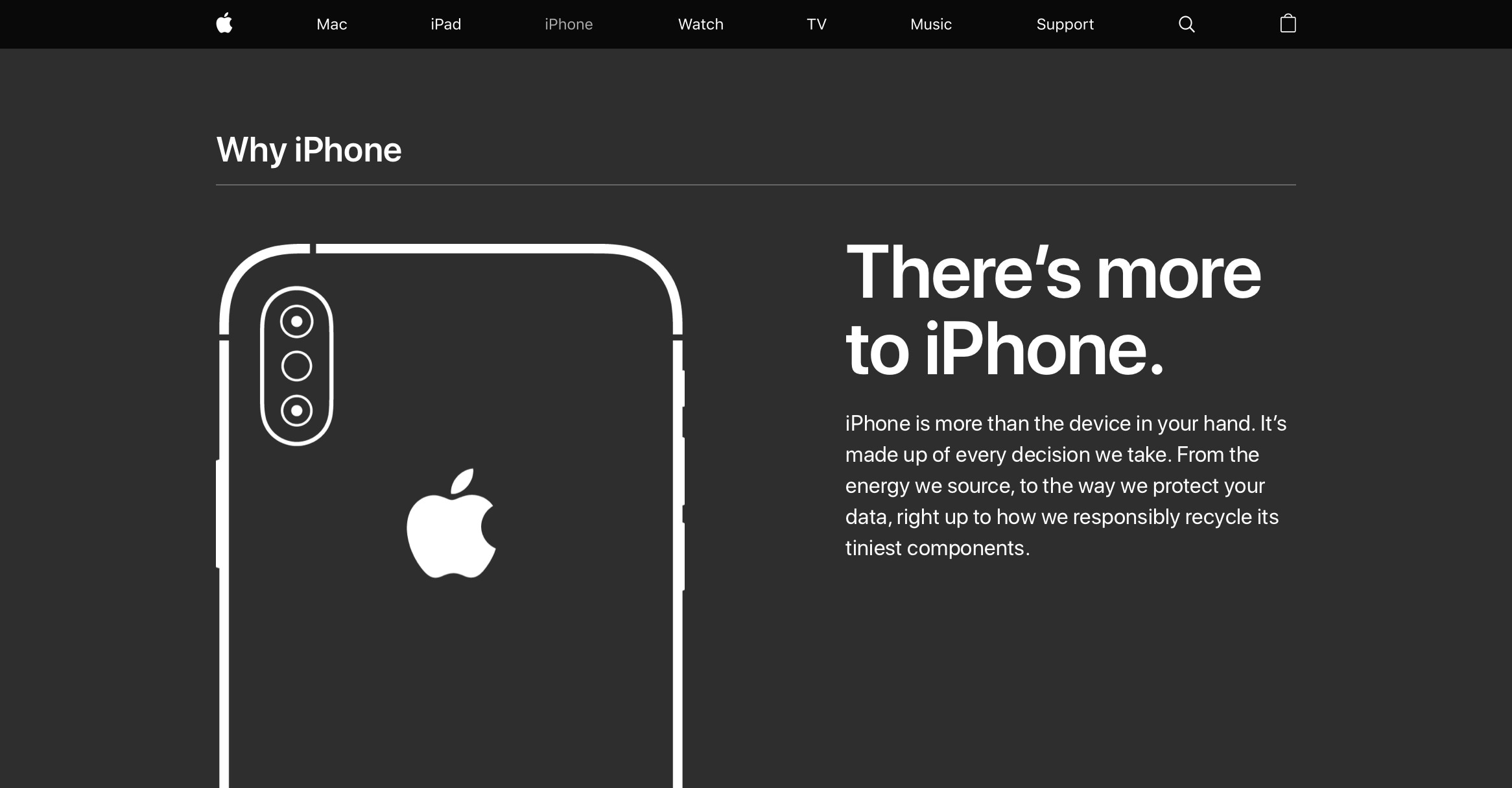 "Campanha ""There's more to iPhone"""