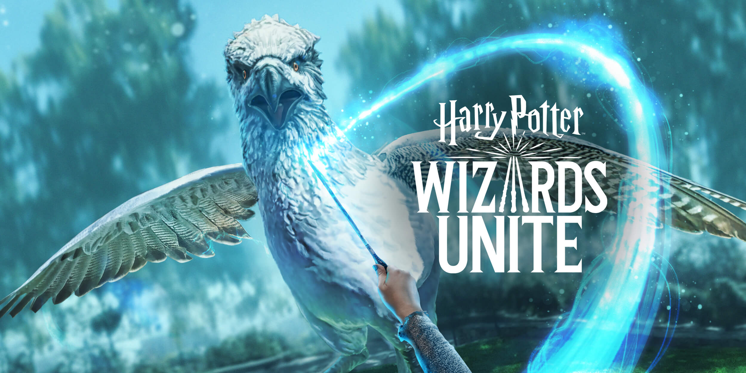 Banner do jogo Harry Potter: Wizards Unite