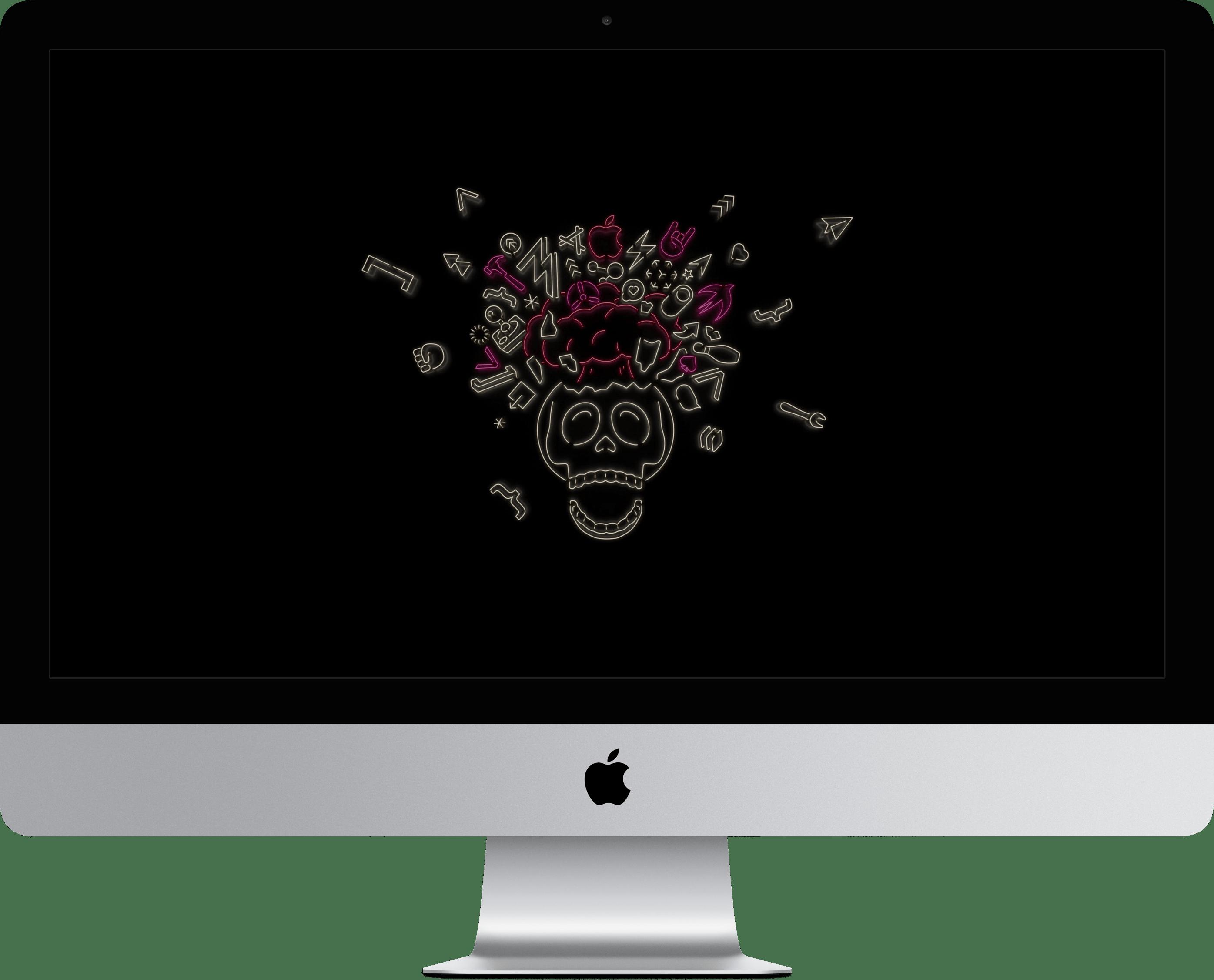 Wallpapers da WWDC19 em iMac