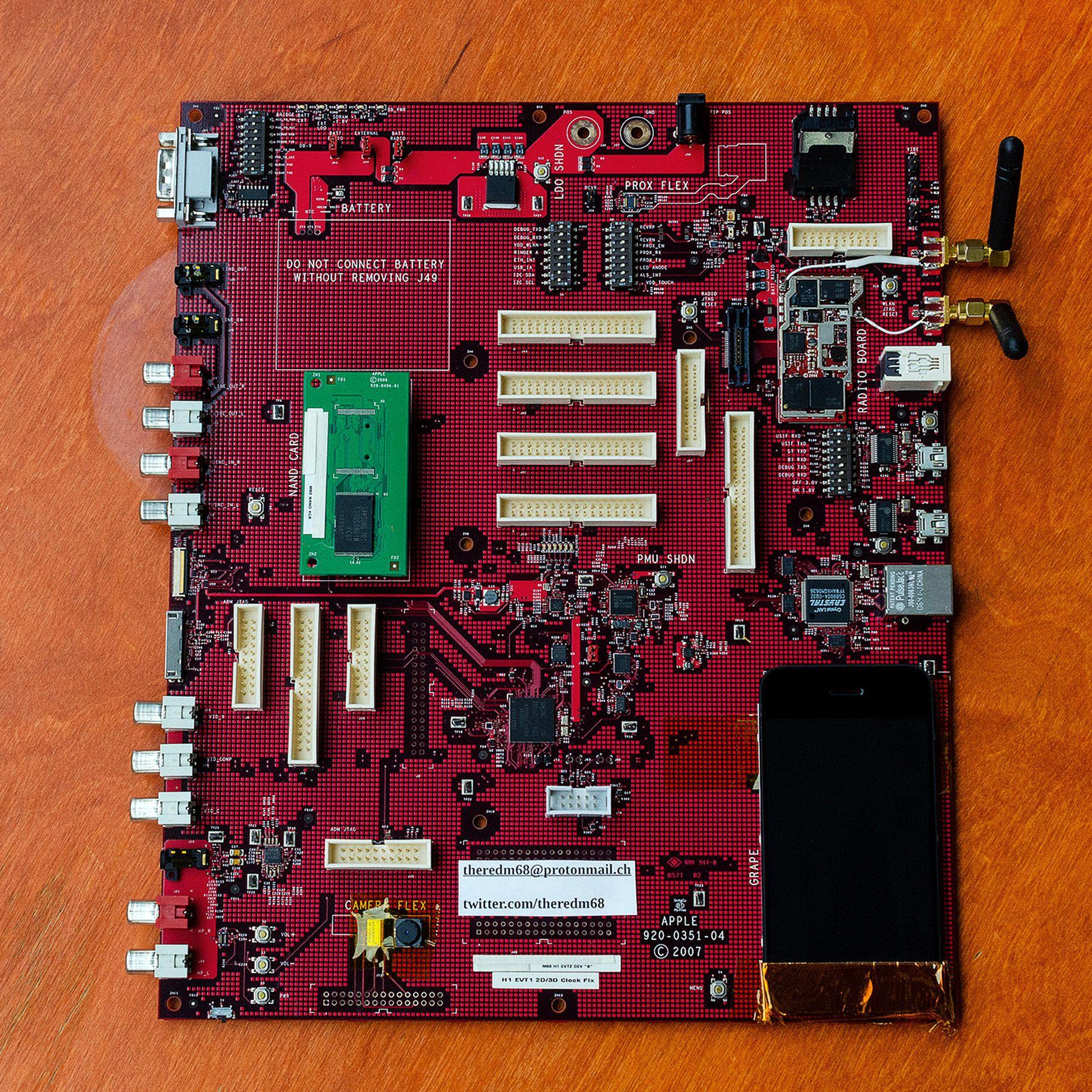 Protótipo de iPhone (M68)