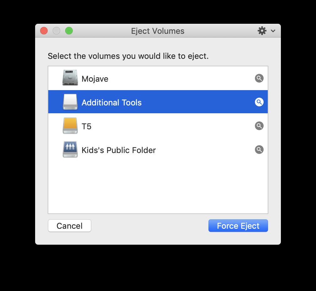Ejector, app para reaproveitar a tecla de ejeção do Mac