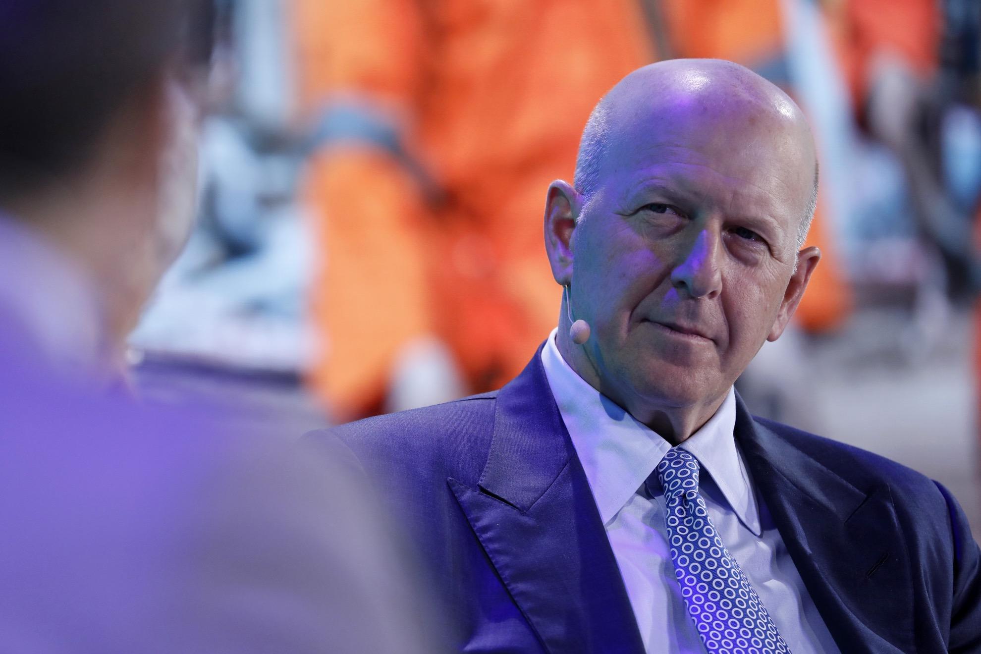 CEO da Goldman Sachs, David Solomon
