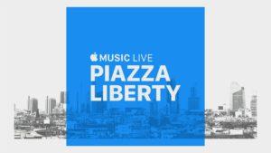 Apple Music Live, série de concertos na Apple Piazza Liberty em Milão (Itália)
