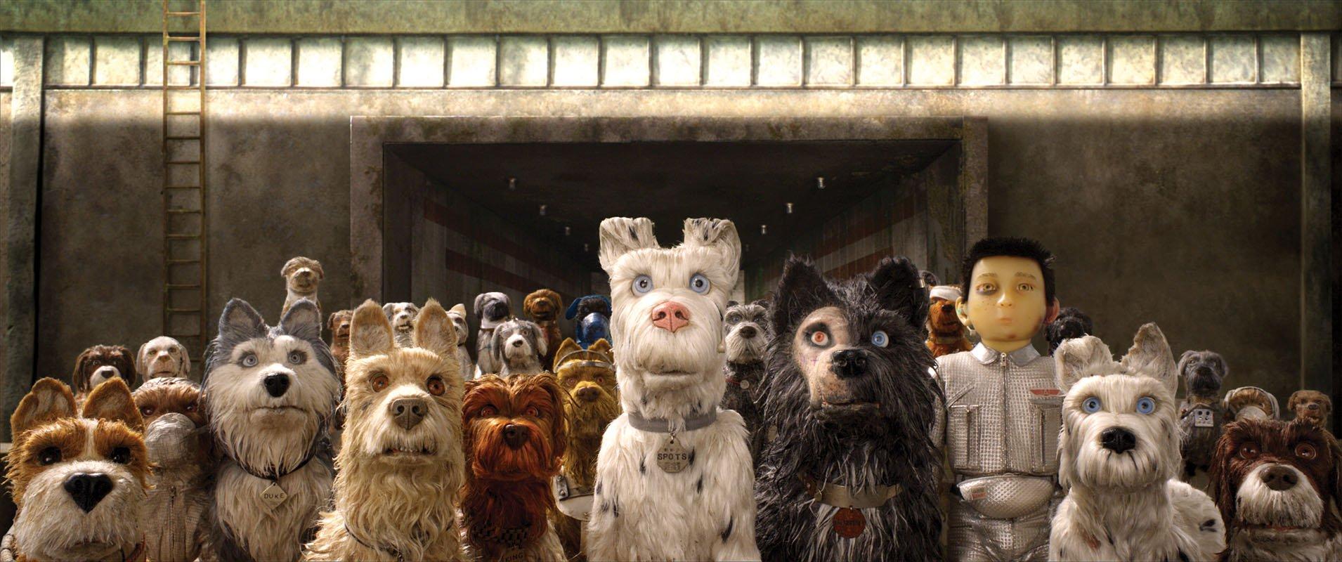 """Banner do filme """"Ilha dos Cachorros"""""""