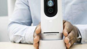 Câmera da Lighthouse AI