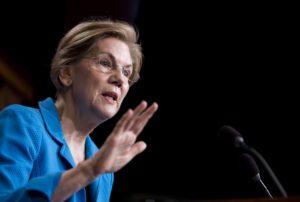 Elizabeth Warren, pré-candidata à presidência dos EUA