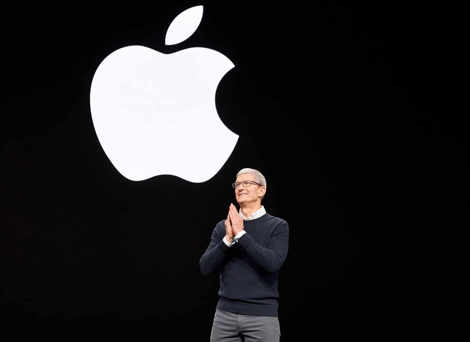 "Tim Cook na keynote do evento especial ""É hora do show"""