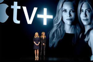Jennifer Aniston e Reese Witherspoon sobre o Apple TV+