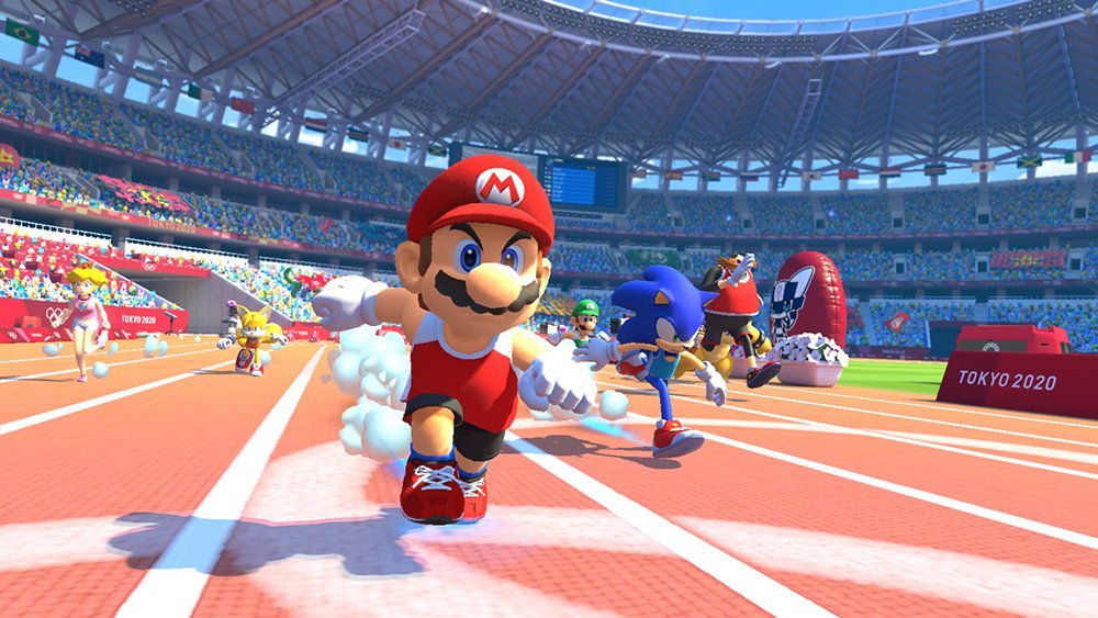 Mario & Sonic At Tokyo Olympics
