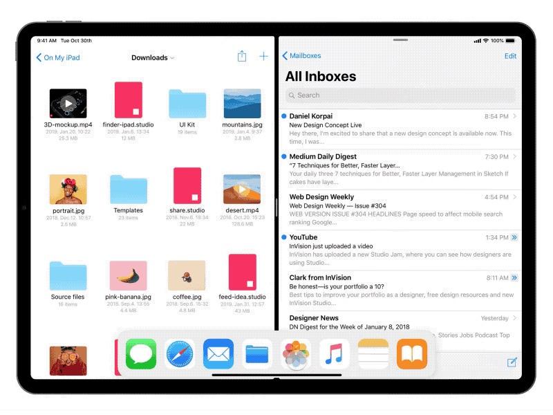 Conceito de iOS 13