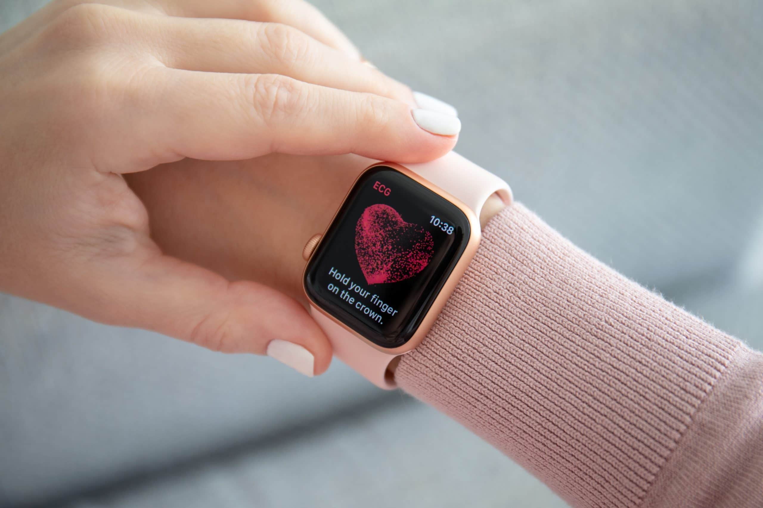 ECG do Apple Watch Series 4