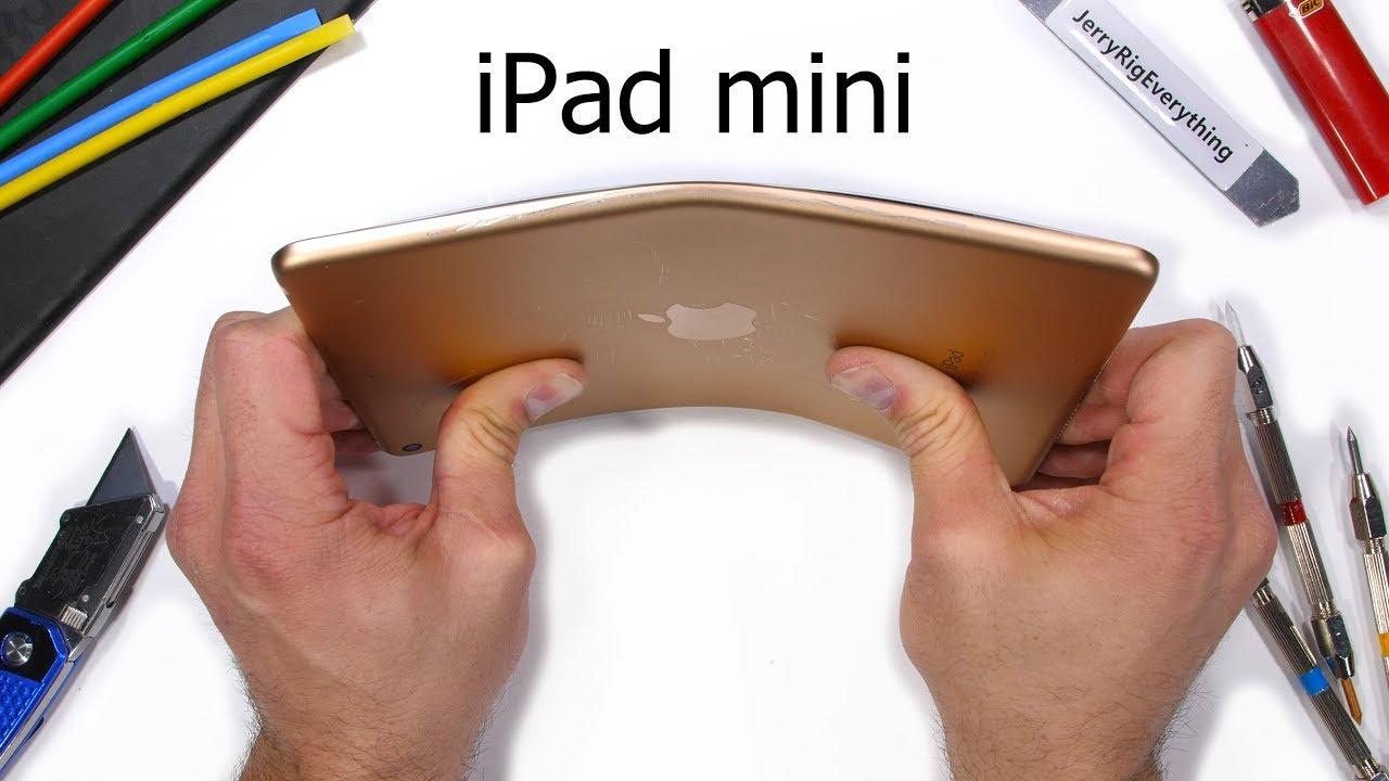 iPad mini bend test