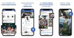 Facebook Lite para iOS