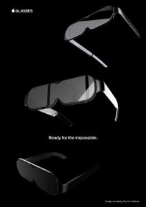 Conceito de Apple Glasses