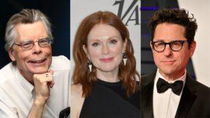 Stephen King, Julianne Moore e J.J. Abrams