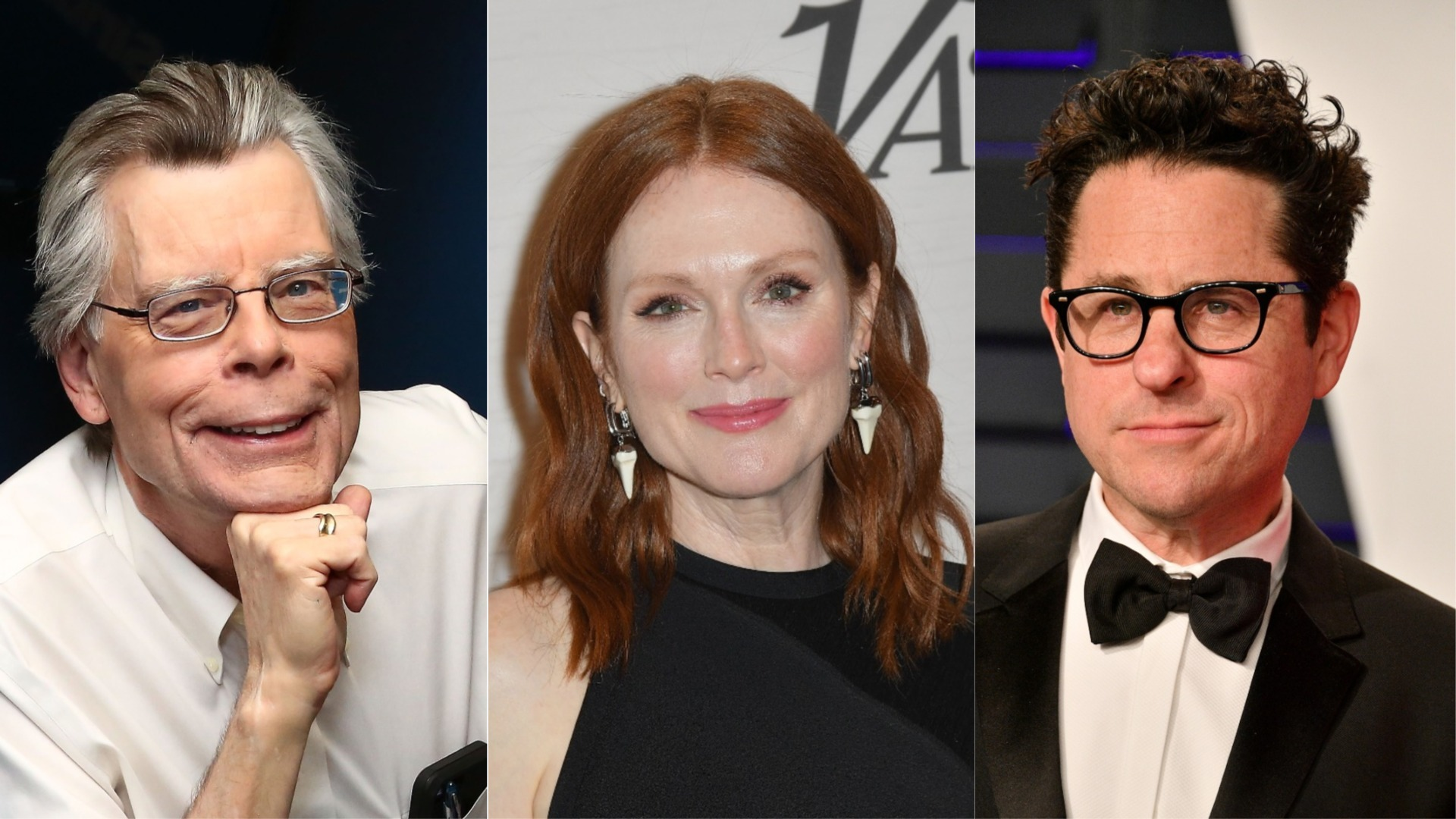 Stephen King, Julianne Moore e J.J. Abrams