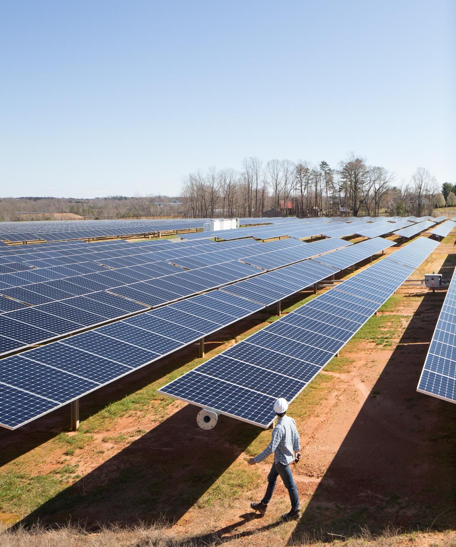 Campo de energia solar da Apple