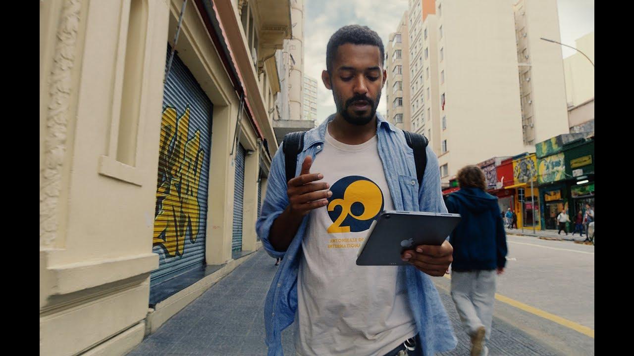 Apple divulga uma série de novos comerciais do iPad Pro