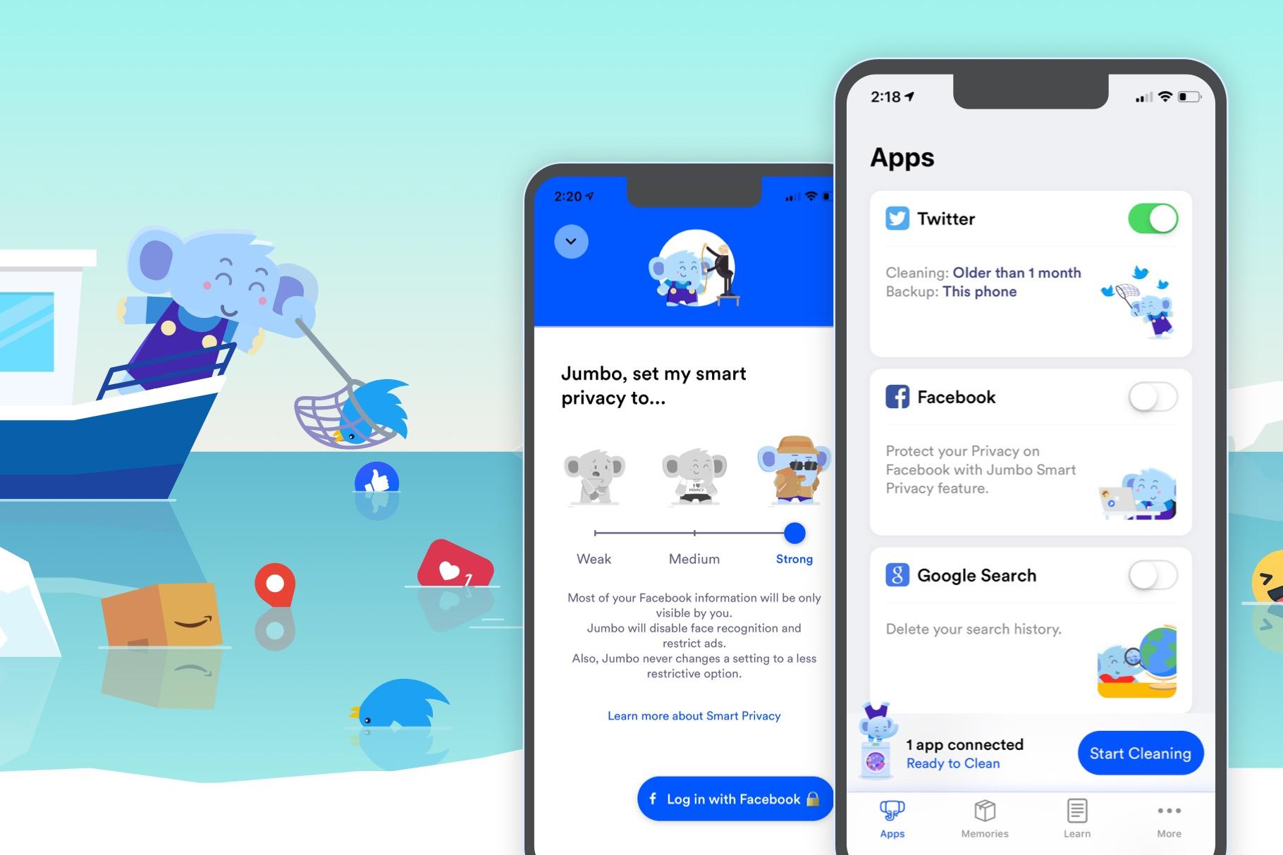 """App Jumbo é um """"assistente de privacidade"""" que ajusta suas redes sociais para lhe proteger"""