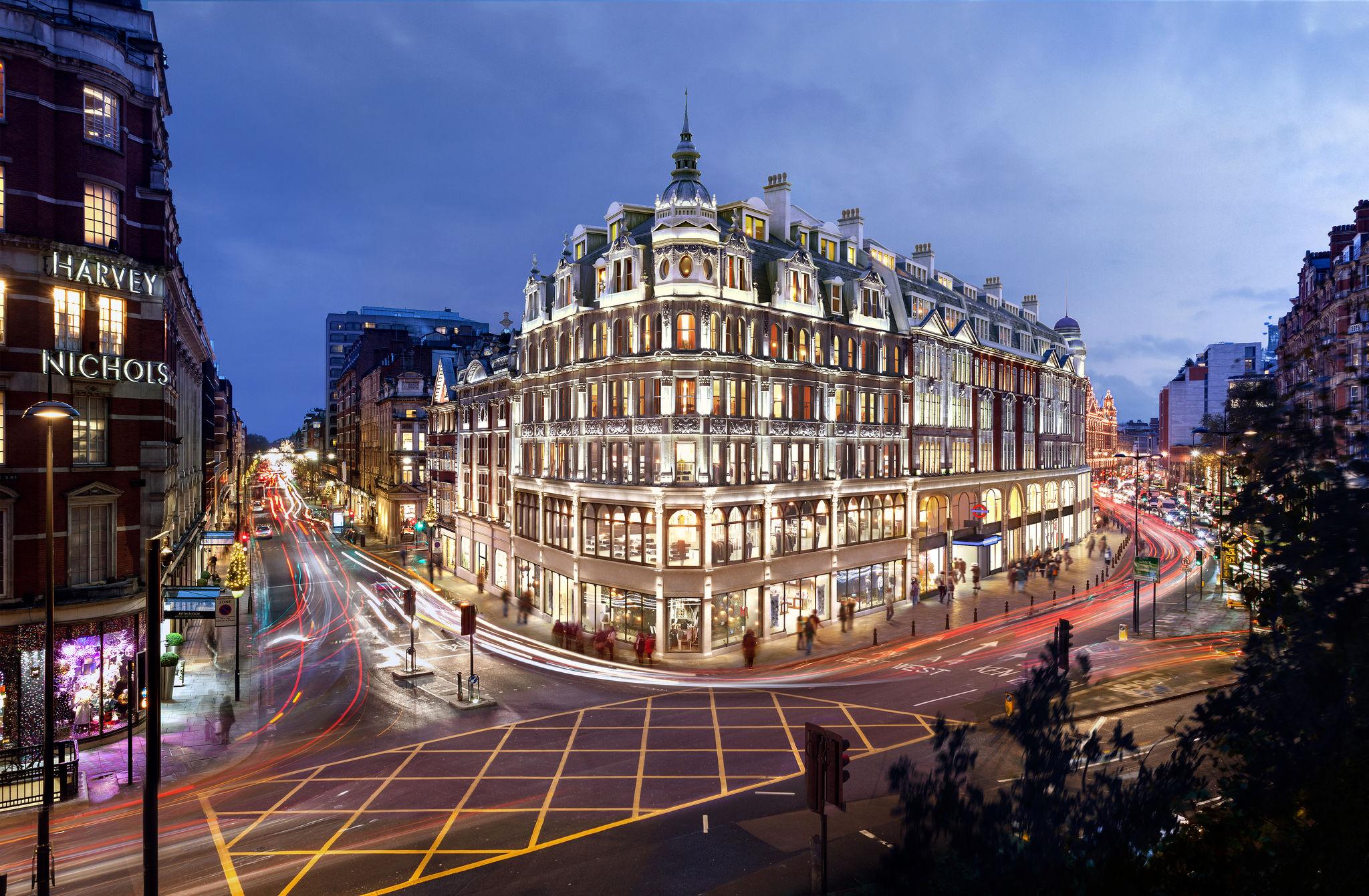 Knightsbridge Estate, onde a Apple pode abrir sua sexta loja em Londres (Reino Unido)